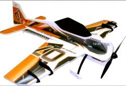 "Twisted Hobbys 32"" Crack Yak-55 Gold w/ HD Landing Gear"