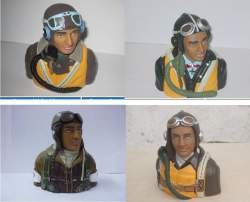WW2 1/5 or 1/6 Scale British RAF, German or Japanese Pilot