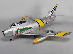 F-86 Sabre Alloy CNC EDF Jet 70mm Retracts, Flaps, Airbrake, EPO (PNF)