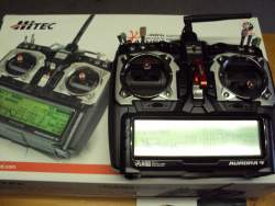 HITEC A 9 RADIO with many extras