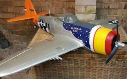 FMS P-47 1400mm only 2 flights.