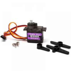 MG90S Metal Geared Micro Servo (6 V) 0.08 Sec/60 Degrees
