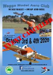 Wagga Scale Rally + Swap&Sell 2020- Cancellation